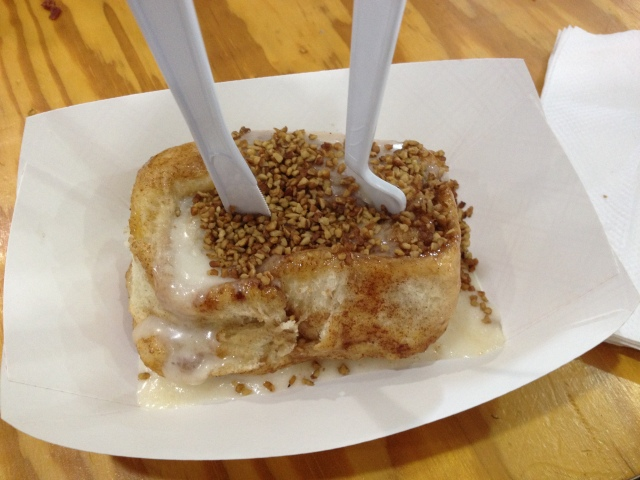Cinnamon Roll from Stubby's.